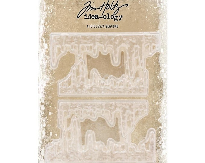 Tim Holtz Idea-Ology Icicles - Pack of 4 (TH93778) New for 2018