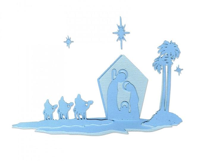 New! Sizzix Thinlits Die Set 6PK - Natividad (Nativity) by Luisa Elena Guillen-K (663221)