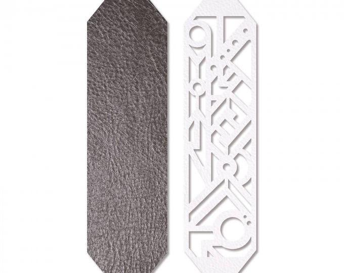 Sizzix Jewelry Making Movers & Shapers Magnetic Die w/Thinlits - Geo Bracelet Cuff by Katelyn Lizardi 661329