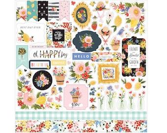 + Bo Bunny Scrapbooking Crafts Cardstock Stickers Choose Alphabets Boy Pet