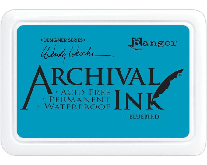BLUEBIRD (Blue) Wendy Vecchi Archival Ink Pad by Ranger