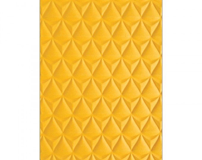New! Sizzix 3-D Textured Impressions Embossing Folder - Pineapple Texture by Courtney Chilson 662826