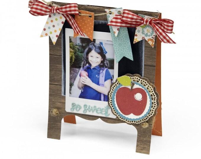Sizzix Thinlits Die Set 16PK - Chalkboard Easel Card by Lori Whitlock 661920