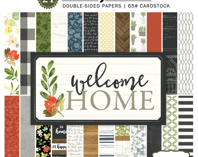 Carta Bella WELCOME HOME 6x6 Scrapbook Paper Pad