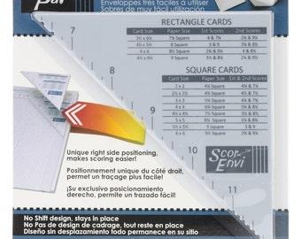 Scor-Envi Diagonal & Envelope Template for Scor-Pal Tool