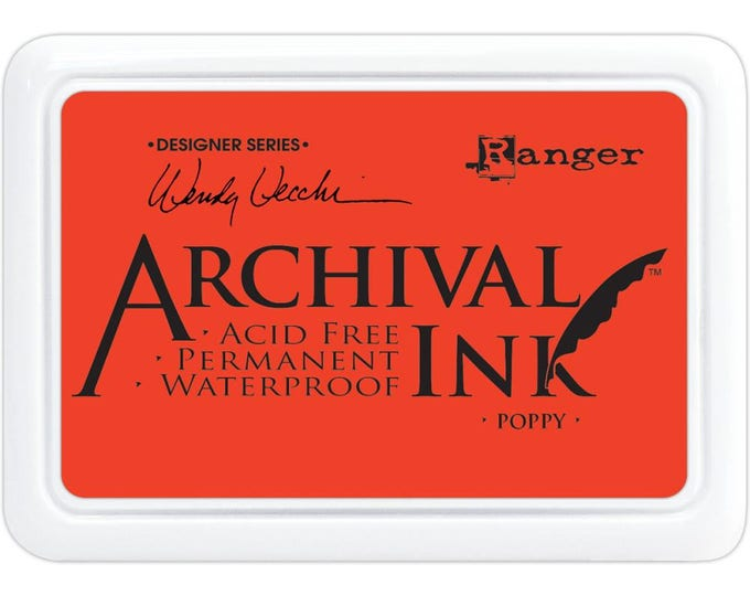 POPPY Wendy Vecchi Archival Ink Pad by Ranger