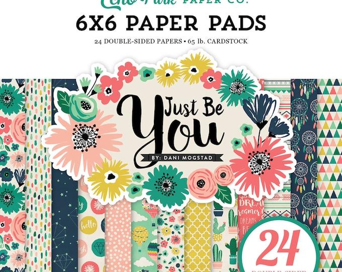 Echo Park Paper JUST BE YOU 6x6 Scrapbook Paper Pad