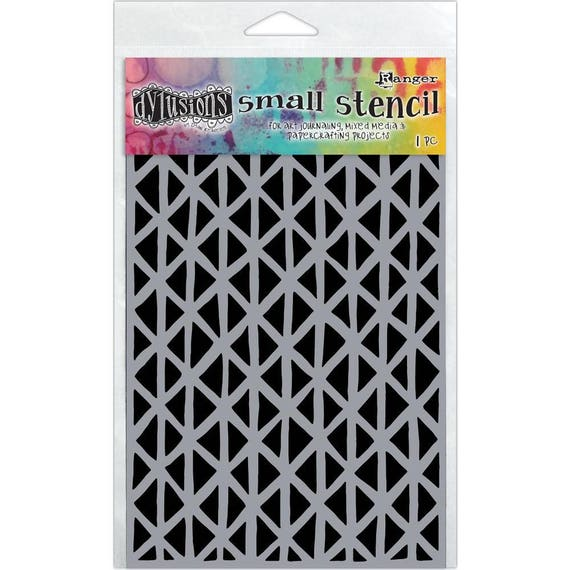 Ranger Dylusions ANGLES Small 5x8 Stencil by Dyan Reaveley