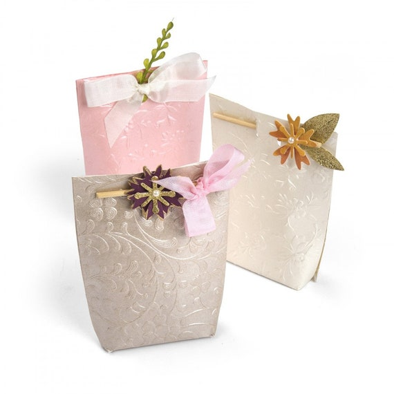 New! Sizzix Bigz Die - Box, Floral Gift by Lindsey Serata 662764