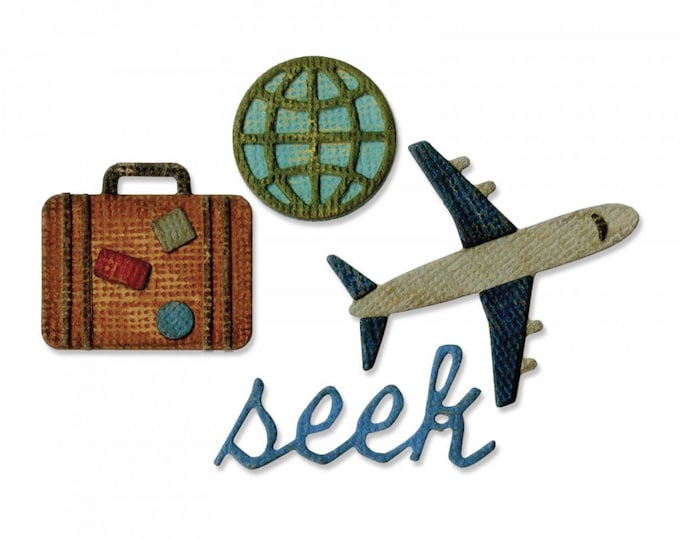 New! Sizzix Tim Holtz Side-Order Set for the Sidekick - Travel 662714