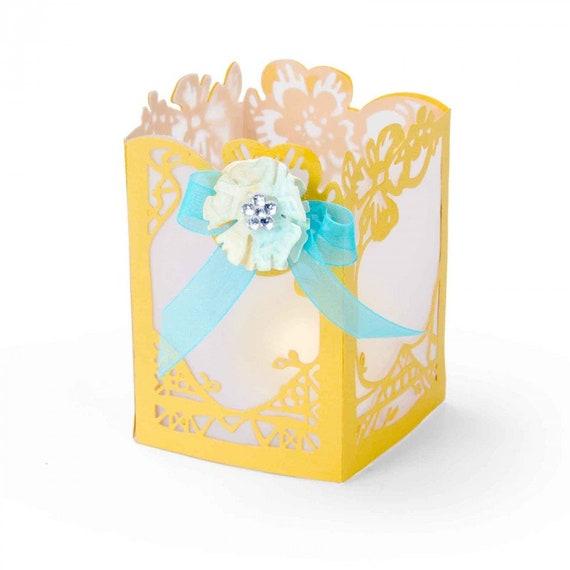 Sizzix Thinlits Die Set 3PK - Floral Lantern by Katelyn Lizardi 661335