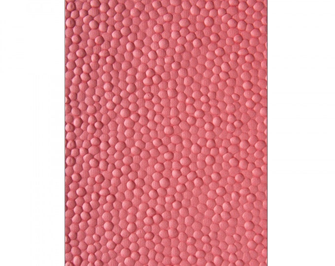 New! (will ship July 25th) Sizzix 3-D Textured Impressions Embossing Folder - Cobblestone by Courtney Chilson 662825