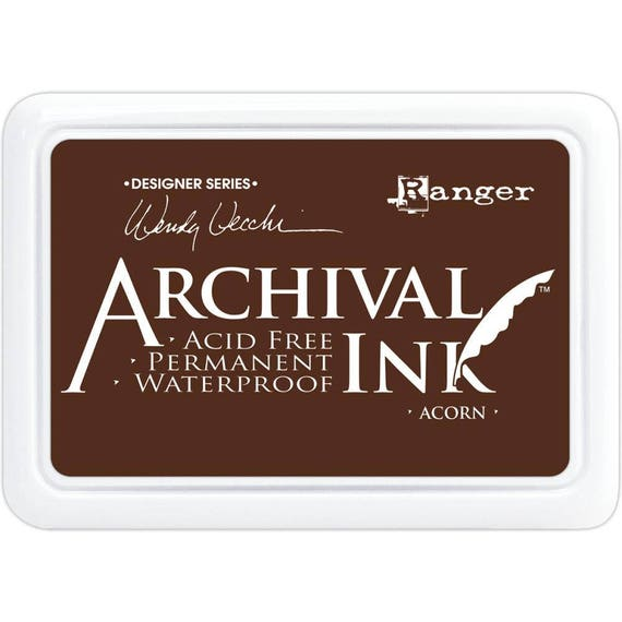 ACORN (Brown) Wendy Vecchi Archival Ink Pad by Ranger