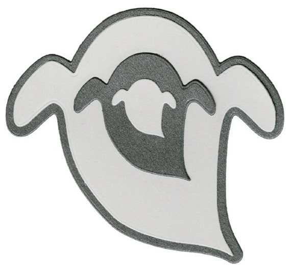 Quickutz/Lifestyle Crafts Halloween NESTING GHOSTS Dies Set DC0189