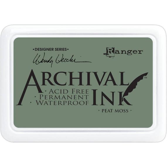 PEAT MOSS Wendy Vecchi Archival Ink Pad by Ranger