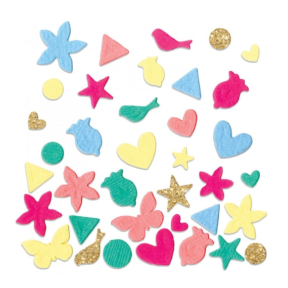 New! Sizzix Thinlits Die - Confetti by Katelyn Lizardi 662793