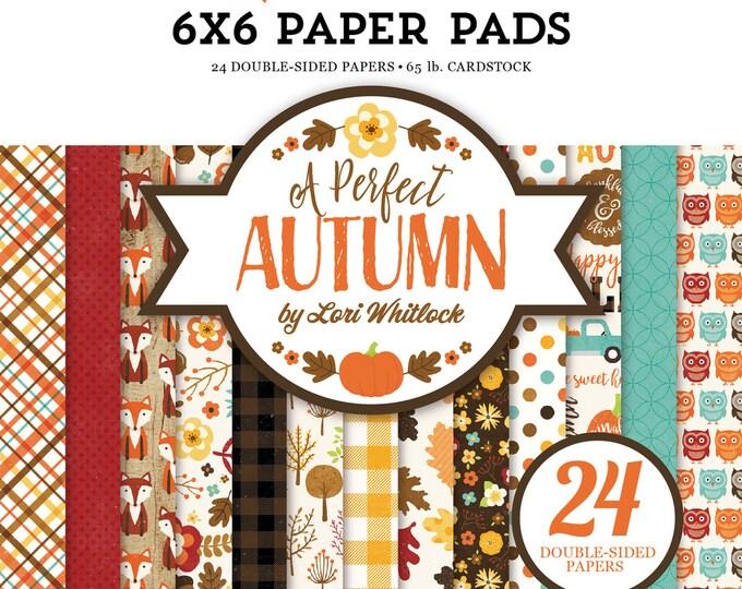 Echo Park Paper A PERFECT AUTUMN 6x6 Scrapbook Paper Pad