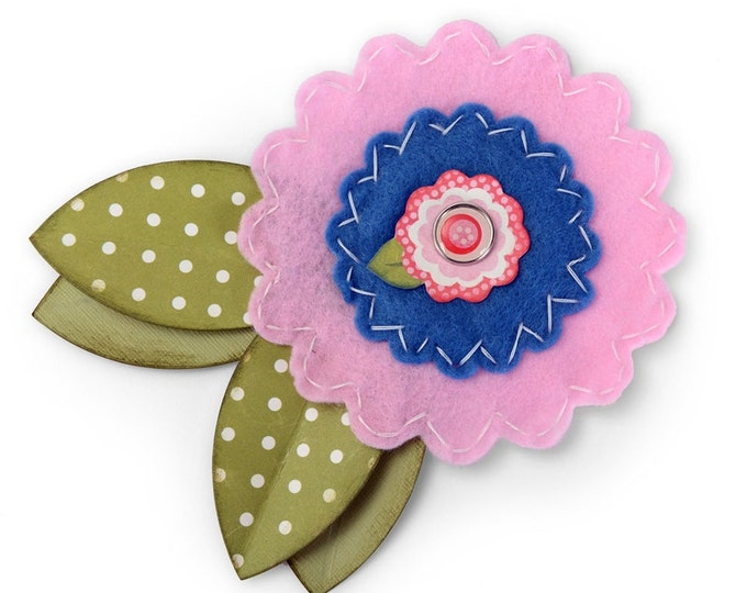 New! Sizzix Bigz L Die - Flower, Big by Lori Whitlock