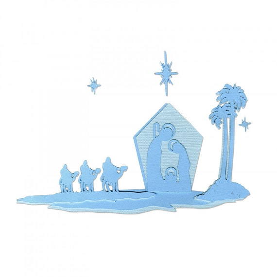 New! Sizzix Thinlits Die Set 6PK - Natividad (Nativity) by Luisa Elena Guillen-K (663221)
