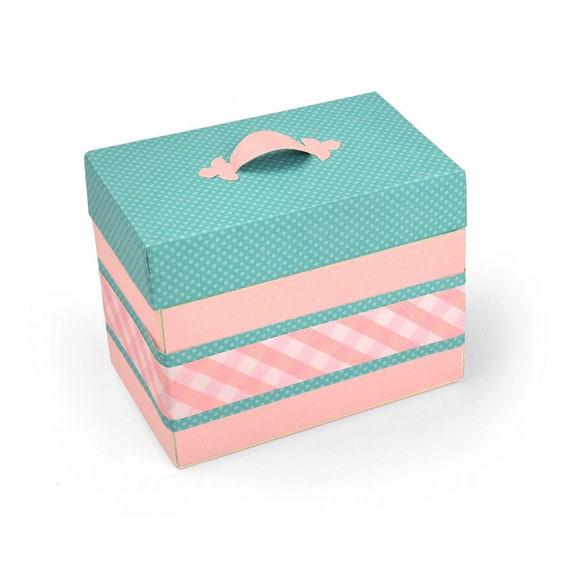 New! (will ship January 24th) Sizzix ScoreBoards XL Die - Box, Treasure by Eileen Hull 663634
