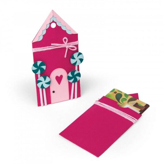 Sizzix Bigz Die - Gingerbread Gift Card Holder by Jen Long 662451