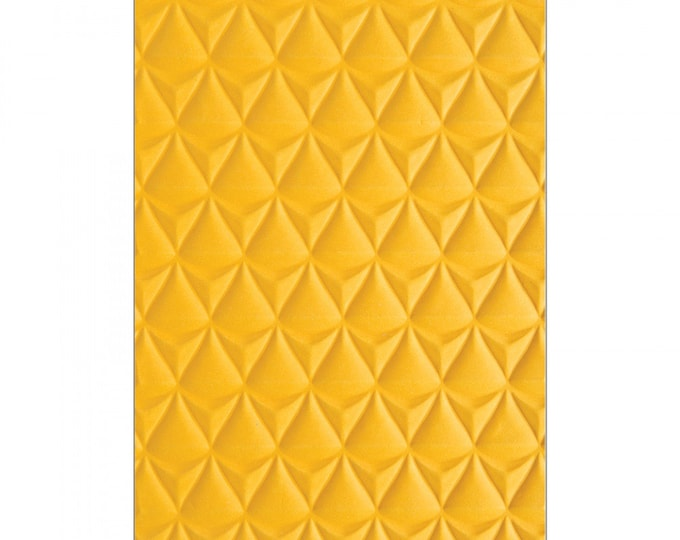New! (will ship July 25th) Sizzix 3-D Textured Impressions Embossing Folder - Pineapple Texture by Courtney Chilson 662826