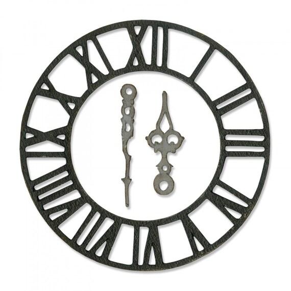 New! (will ship January 24th) Sizzix Tim Holtz Bigz Die - Timekeeper 664173