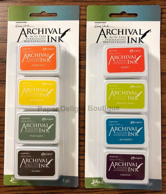 IN STOCK! Archival Wendy Vecchi Mini Ink Pads Kit - Set # 5 and #6 - Brand new for October 2018
