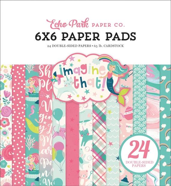 Echo Park Paper IMAGINE THAT - GIRL 6x6 Scrapbook Paper Pad