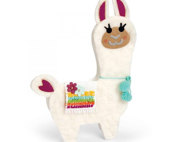 New! (will ship July 25th) Sizzix Bigz Die - Llama by Katelyn Lizardi 662822