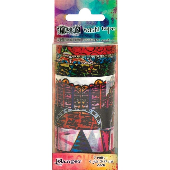New! Ranger Dylusions Washi Tape by Dyan Reaveley - Set #5