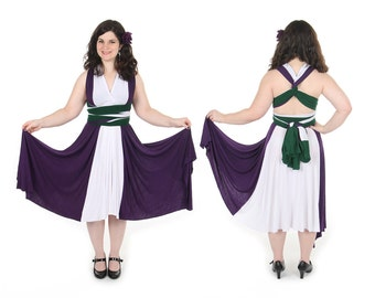 Angry Green Lawyer inspired Convertible Dress