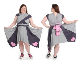 Soulmate Square Video Game Convertible Dress