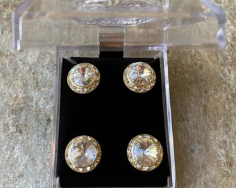 Gold /& Silver Scroll Horse Show Magnets
