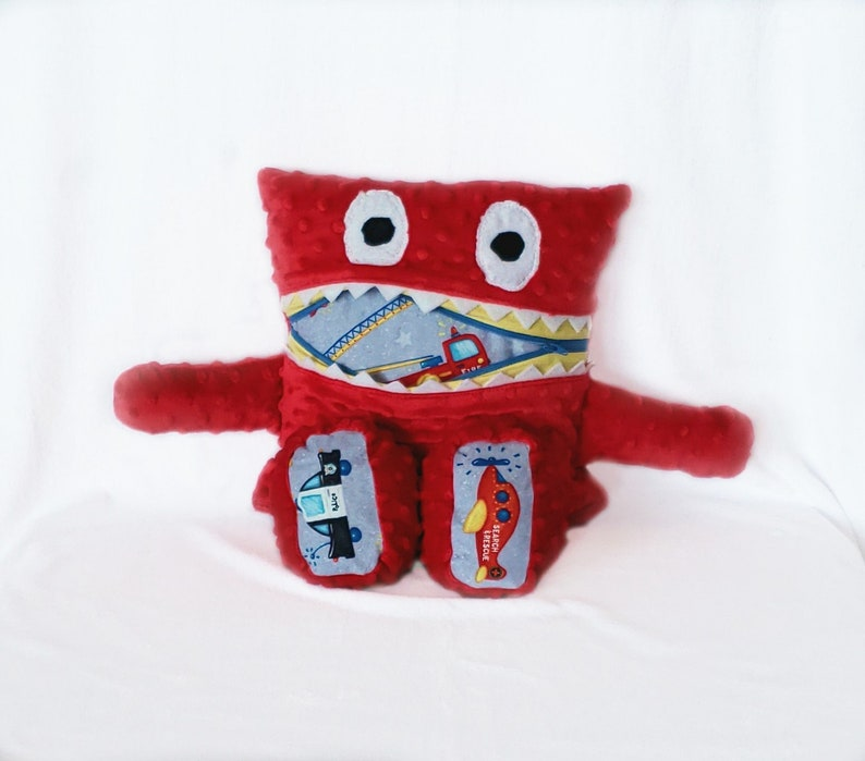 Fire Rescue Monster Pajama Eater/ Monster Pajama Holder/ image 0