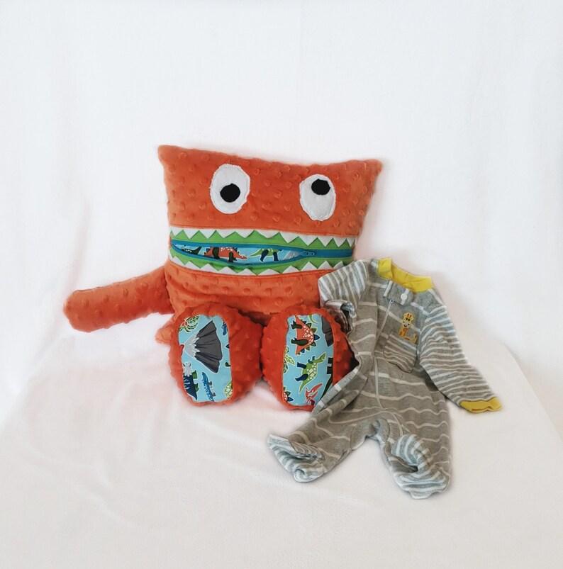 Glow In Dark Dinosaur Monster Pajama Eater/ Monster Pajama image 0