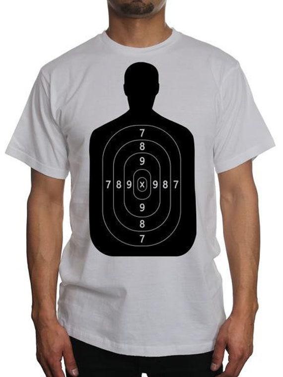 d95b008033 Human Target Shirt | Target Shooting Practice Bullseye Long Sleeve T-Shirt