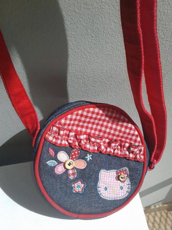 363aa41f88 Vintage Hello Kitty Kawaii Girl s Tween Canteen Handbag