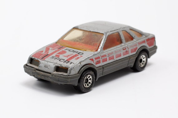 Rare Vintage Matchbox Collectible Car Model Ford Sierra Xr4i Etsy