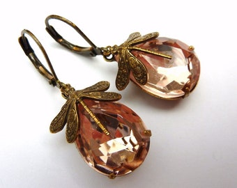 Elster Lillys Rosalin Libellchen | Earrings