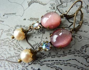 Elster Lillys Strawberry Sorbet | Earrings