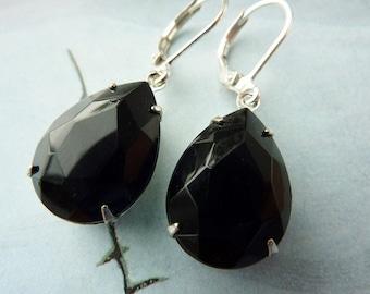 Elster Lillys black beauty | Earrings