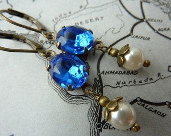 Elster Lillys blue heaven | Earrings