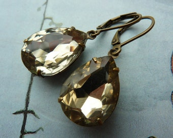 Elster Lillys golden glow | Earrings