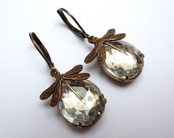 Elster Lilly's Crystal Dragellles | Earrings