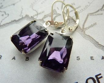 Elster Lillys purple power | Earrings