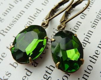 Elster Lillys Olivinchen | Earrings