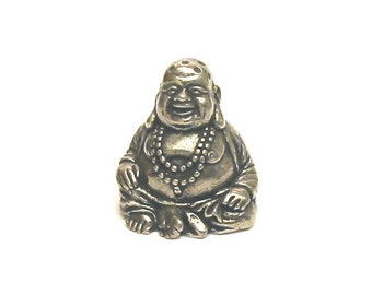 Bronze thimble collectible barrel with a mermaid