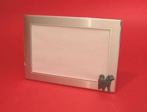 Cockapoo Dog Motif 8 x 6 Photo Picture Frame Dad Mum Christmas Gift NEW