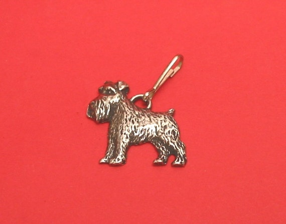 Pug Dog Pewter Motif on Seven day chrome polished pill box gift